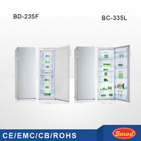BD-335 twin refrigerators and freezers made in China/Pigeon pair fridge freezer