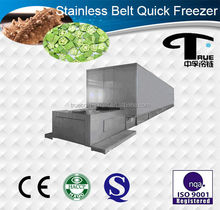 1600kg Best price and economical iqf freezing tunnels