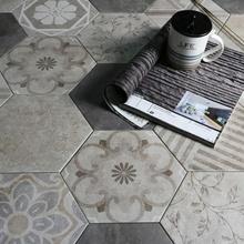 China Italienisch Grau Anti Rutsch Sechskantschrauben Porzellan Dekorative  Fliesen Für Wand Boden Küche Backsplash