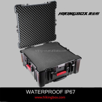 Heavy duty Large Volume Plastic Tool Case /waterproof storage case with Foam Insert No.HTC027