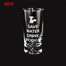 Glassware factory handmade fancy vodka drinking glasses