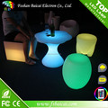 Promotional Glowing color changes LED tea tabale