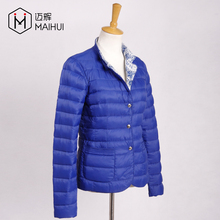 Women Nylon Goose Feather Ultra Light Down Jacket Winter Jacket Clothing