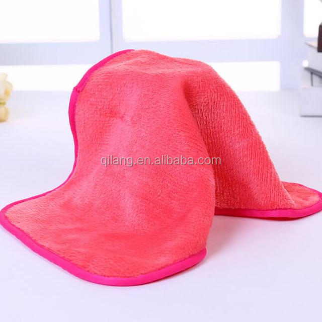 Beauty face towel which make the surface smoother fiber