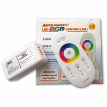 Easy plug and play installation led rgb controller