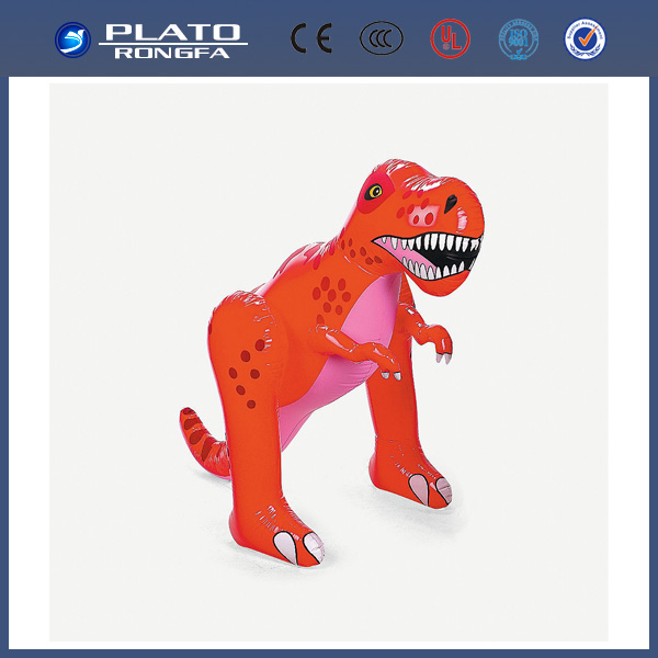 inflatable PVC Inflatable toy dinosaur/ small animals plastic toys/ pvc inflatable cartoon model