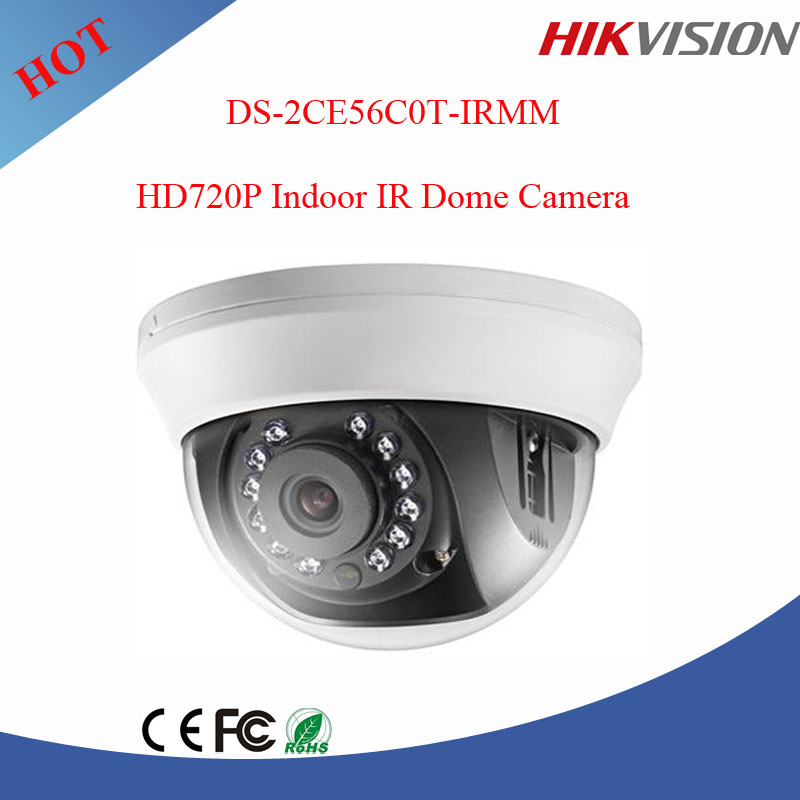 Hikvision 720P indoor dome camera hd tvi cctv camera