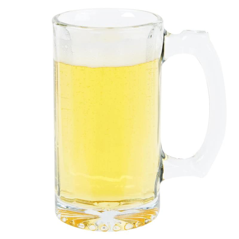 Lonestar top selling glass beer mug with high quality
