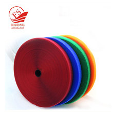 All kinds of colors sew on hook and loop iron on cloth strap