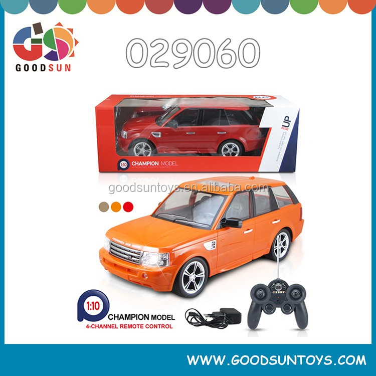 1/10 4 CH radio control Car toys electric toy Remote Control Car toys plastic mini car with Rechargeable Battery