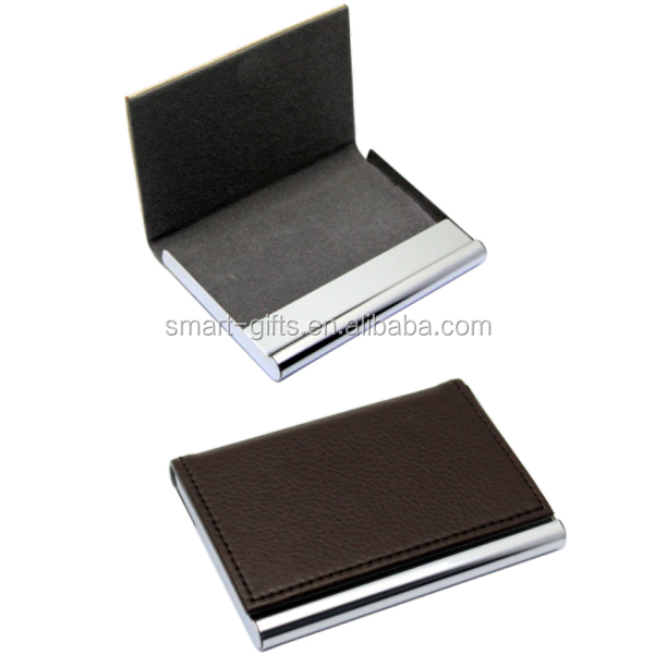 PU visiting card box for business cards