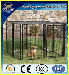 high quality and low price mudolar /large dog kennel