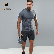 2018 Wholesale Polyester Spandex Men T-Shirts