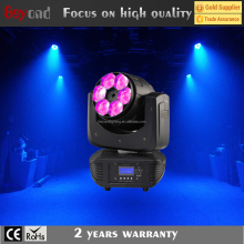 Top Selling mini size 6x15w 4-in-1 zoom wash moving head led