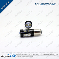 Wholesale stop LED auto light CE certification black aluminum S25 1157 BAY15D BA15D 30w car light