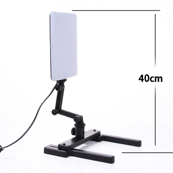 Professional 5500K 18W 96PCS LED Light Lamp with Mini Shooting Bracket Stand Set Photographic Light Kit CN-T96 T96
