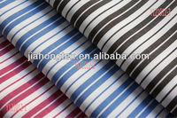 100% Cotton yarn dyed striped fabric