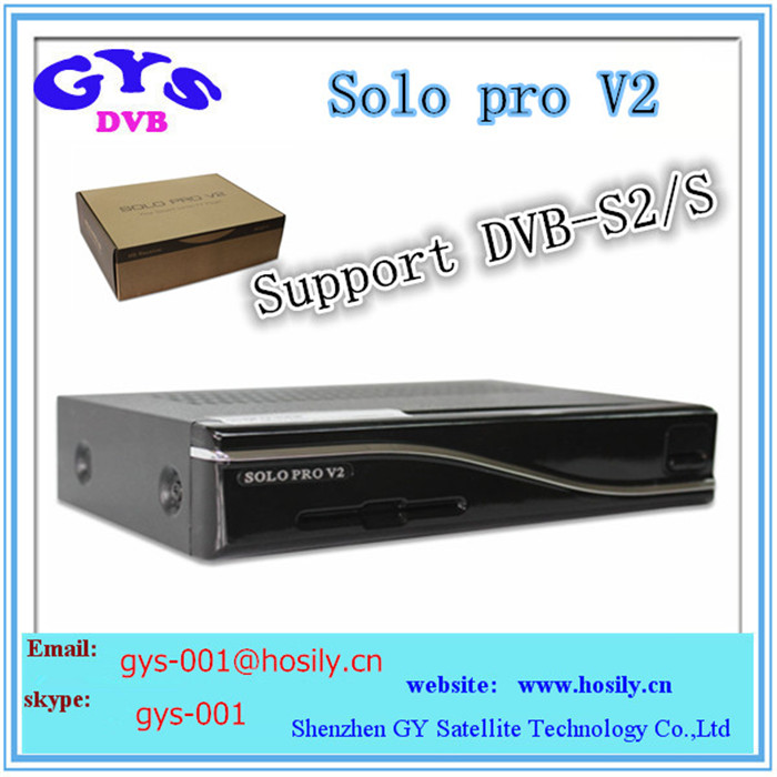 New solo pro V2 support DVB-S2 best satellite tv receiver SOLO PRO V2 in stock