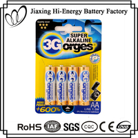 High Performance Alkaline 1.5V LR6 AA AM3 External Battery