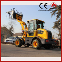 CE used agricultural tractors with front loader