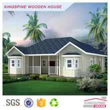 prefabricated log cabin 1 floor house plans KPL-021
