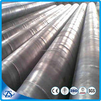 steel casing pipe sizes for steel spiral corrugated pipe