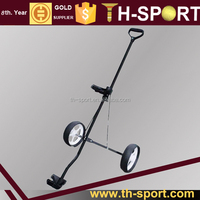 small folding golf trolley push cart