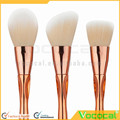 8 PCS Makeup Cosmetic Brush Foundation Eyebrow Powder Blush Concealer Sculpt Contour Blending Brush Set Kit Rose Gold