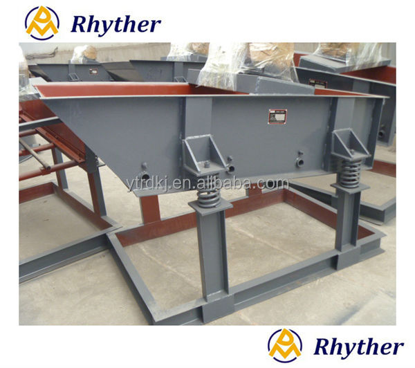 China Hot Sale Stone linear Vibrating Screen equipment