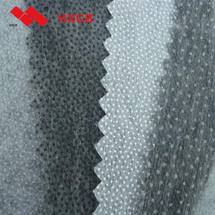 100% Polyester Fusible Non Woven Interfacing Fabric Adhesive Nonwoven Interlining Fabric for Textile/ Apparel Accessory
