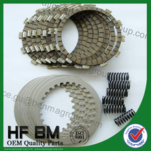 Street bike clutch kits, Clutch plates, discs of cork and steel for clutch motorcycle