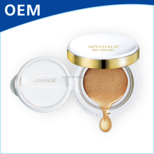 MOND'SUB Brown Color Air Cushion BB Cream SPF20/PA+++ Private Label Cosmetic Facial Concealer