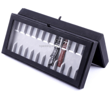 Multi-function watch display case / wooden cigar box