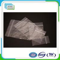 Clear Zipper Bag For Food Storage/Ldpe Zip Lock Bag