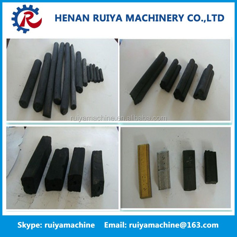 China supplier coal charcoal briquette extruder machine /rods making machine /pellet making machine