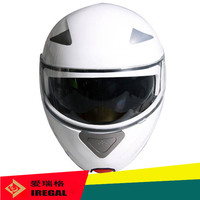 2015 new wholesale ECE approval flip up helmet with double visor