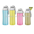 school stainless steel double sided water bottle whole sale