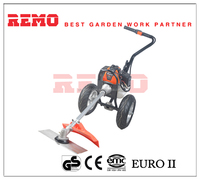 hand push brush cutter all new design rotary gasoline garden grass trimmer