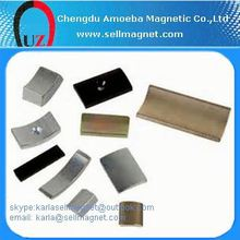OEM latest low price arc neodymium magnets