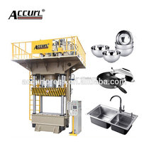 deep drawing press machine four pillars hydraulic punching press for ceiling tiles
