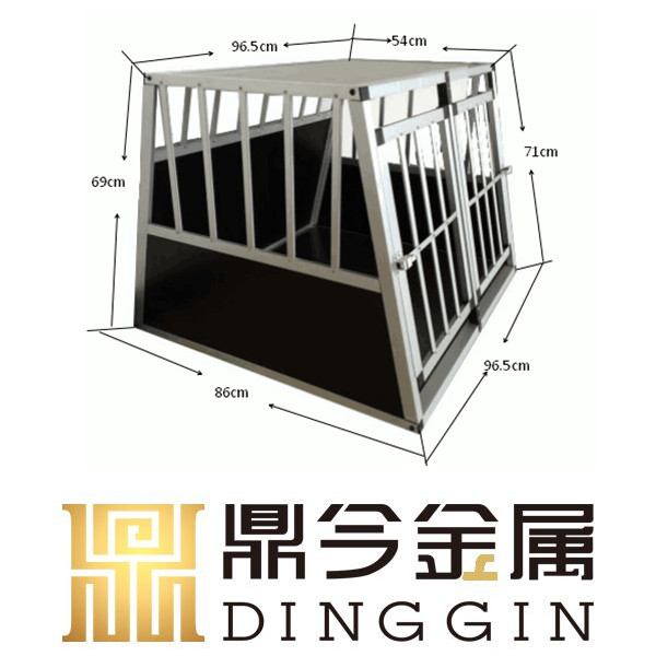 Fashion aluminum dog cage for travel