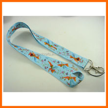 Tinkerbell Peter Pan Blue Neck Lanyard Strap Cell Mobile Phone ID Card Key chain