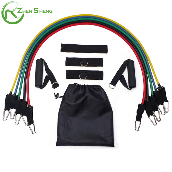 Zhensheng Wholesale Body Stretch Exercise Resistance Bands <strong>Fitness</strong>