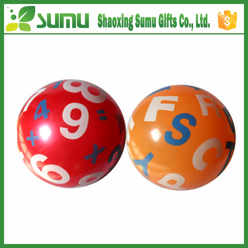 hot selling inflatable beach ball toy pvc