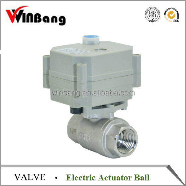 Electric Actuator Ball Valve with Manual Override