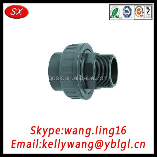 trade assurance supllier export types of bulk upvc cpvc pprc pipe fittings pipe fitting in China