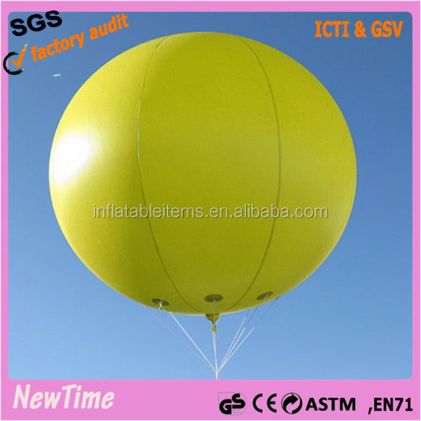 large inflatable advertising flying balloon display