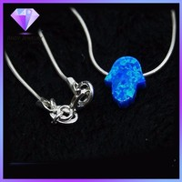 synthetic blue opal jewelry