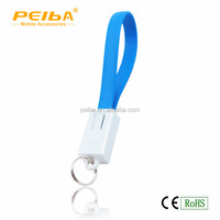 New design Wholesale mobile phone charging cable, Micro USB Keychain Charger Data Cable For Samsung S5