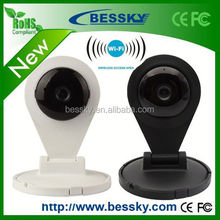 P2P ONVIF 720P Two-way audio wifi home IP camera rohs conform